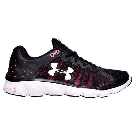 Under Armour Mens Boys Grade School Micro G Assert 6 Running Shoe