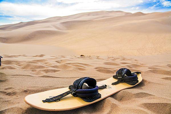 Sandboarding the Sand Dunes in Colorado | My Bucket List
