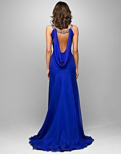Electric Blue Pageant Dresses