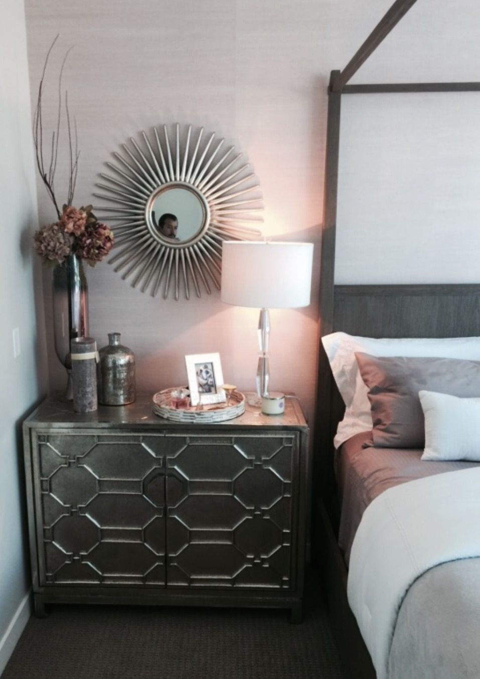 transitional bedroom design for fitness model paige hathaway