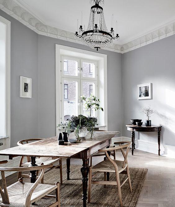 Gray Dining Room Ideas: Pin De RM P En Gorgeous Gray