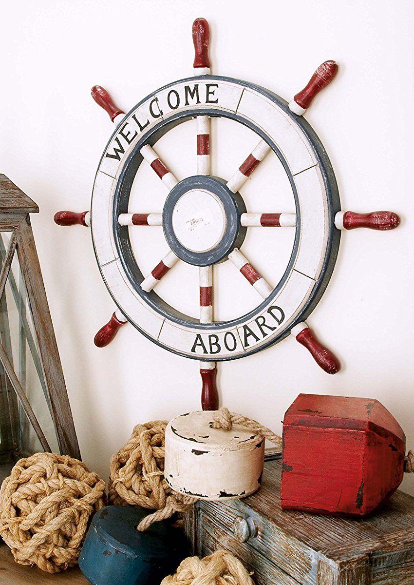 27 Ship Wheel Wall Decor Ideas