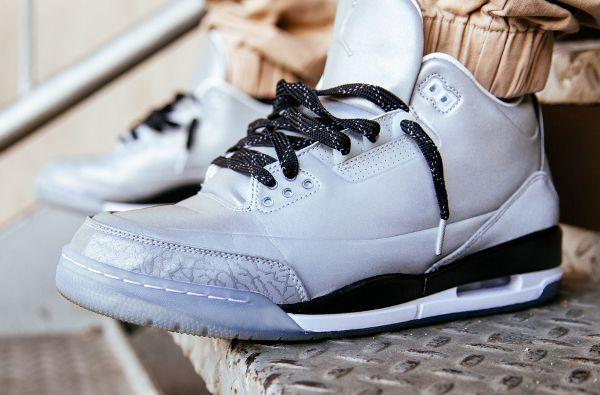 f1d17cd455e1f8 Air Jordan 3 5Lab3 Metallic Silver