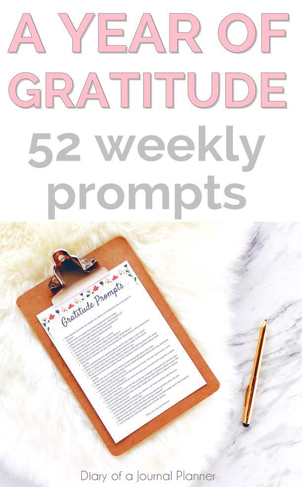 52 weekly prompts to help you find the things you are thankful for in the year #gratitude #grateful #journaling #journalprompts ##journalingprompts #journal #journalingbible #journalideas #journalingbible #artjournal #artjournaling #artjournaleveryday #journalpages #bulletjournal #bulletjournalideas #bulletjournalspread #bulletjournaling #bulletjournalinspiration #bujo #bujojunkies #bujolove #bujoinspire #bujocommunity #bulletjournaljunkies #bujoideas #bujoinspiration