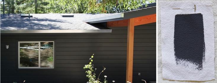 Best Exterior Black House Paint Colors Benjamin Moore French Beret Gardenista