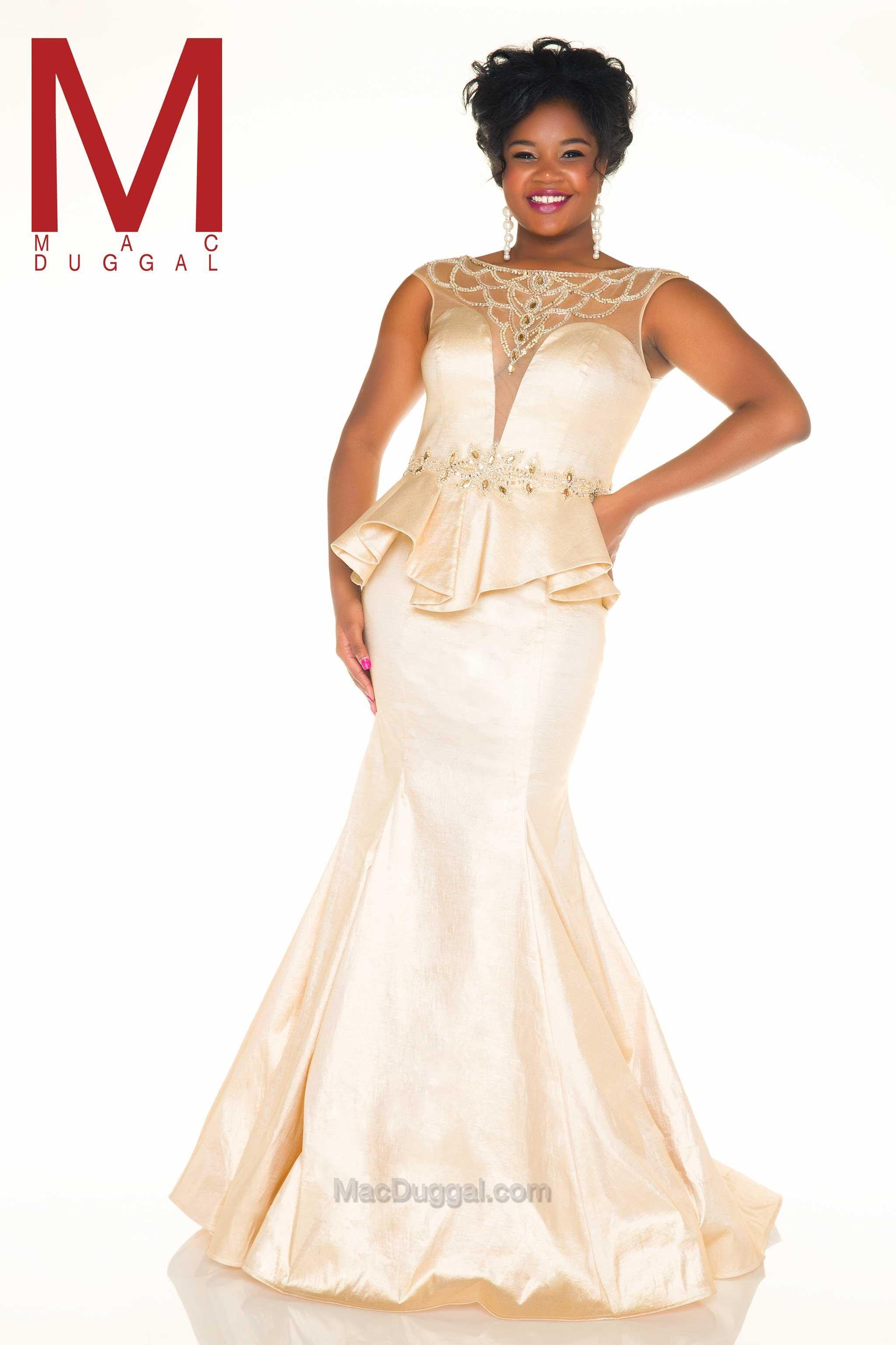 Mac Duggal Style 77003f Usa Prom Dress Evening Dresses Plus Size Prom Dresses Plus Size Prom Dresses [ 3072 x 2048 Pixel ]