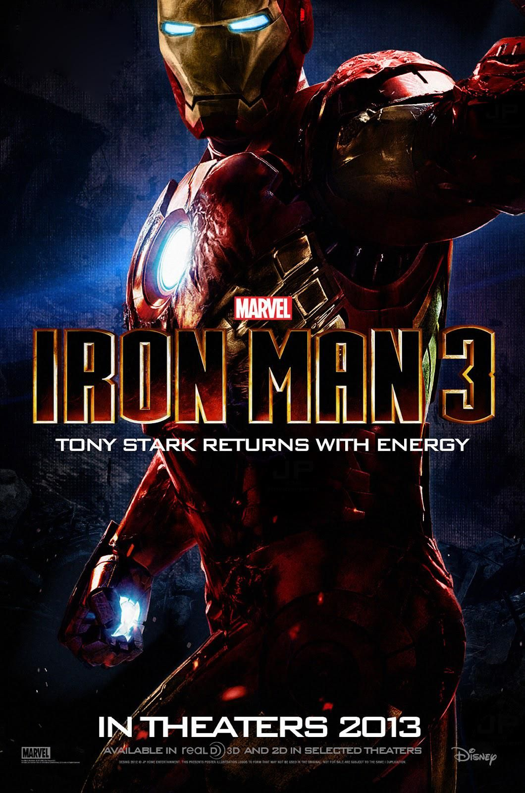 Saw This At The 9 Oclock Permere Last Night It Was Excellent Make Sure You Stay Till After The Credits Iron Man Photos Iron Man 3 Iron Man 3 Poster