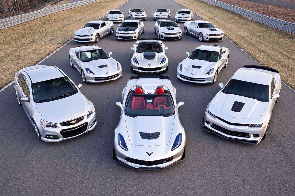 Chevrolet's 14 performance car models