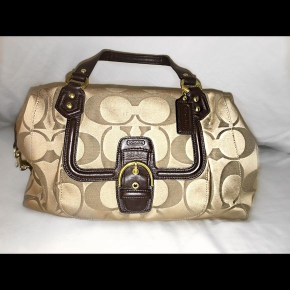 Coach Purse Coach Purse Comes from a smoke free home!! Ready to ship just for YOU!! ***everything not sold by April 26th will be taken down for a while.. So hurry and make your order so that I can ship it to you!! **** Coach Bags