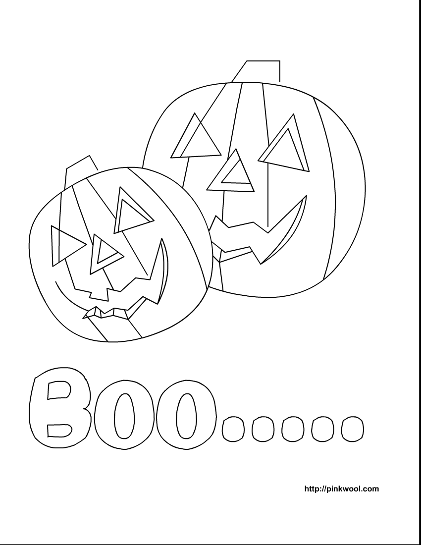 free printable kids coloring pages | Halloween | Pinterest