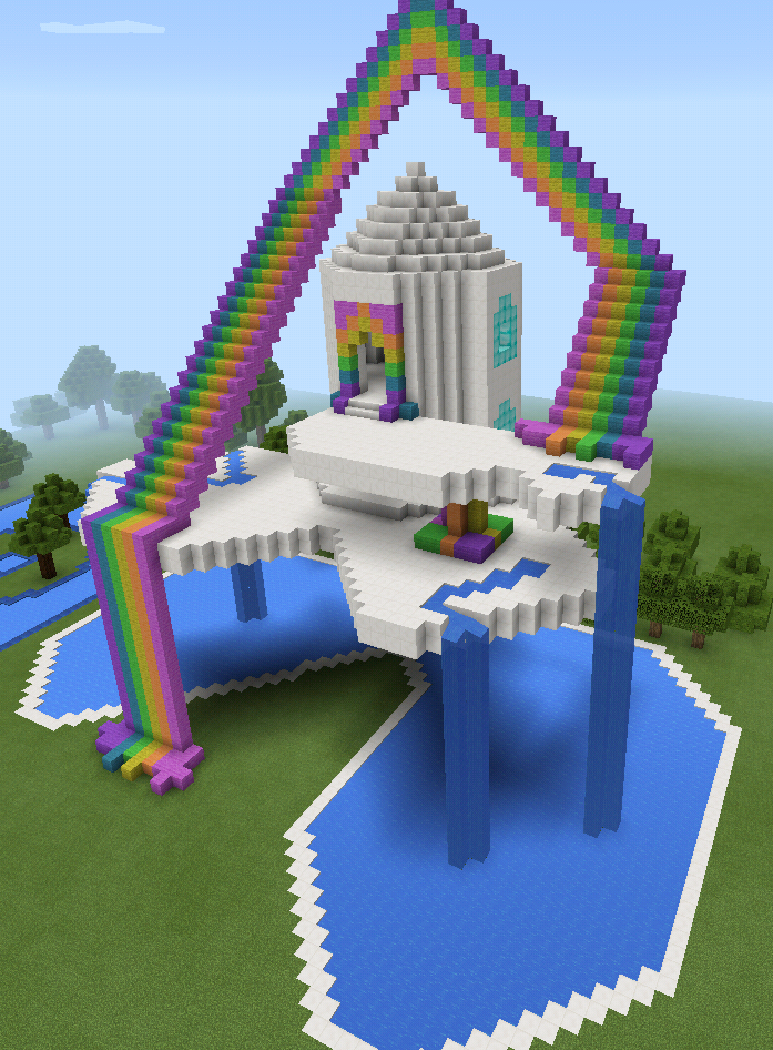 Girl Houses Minecraft Cute