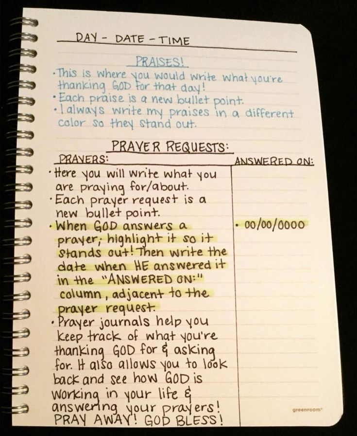 6 More Prayer Journal Ideas to Help You Dig in to Your Prayer Life - Project Inspired