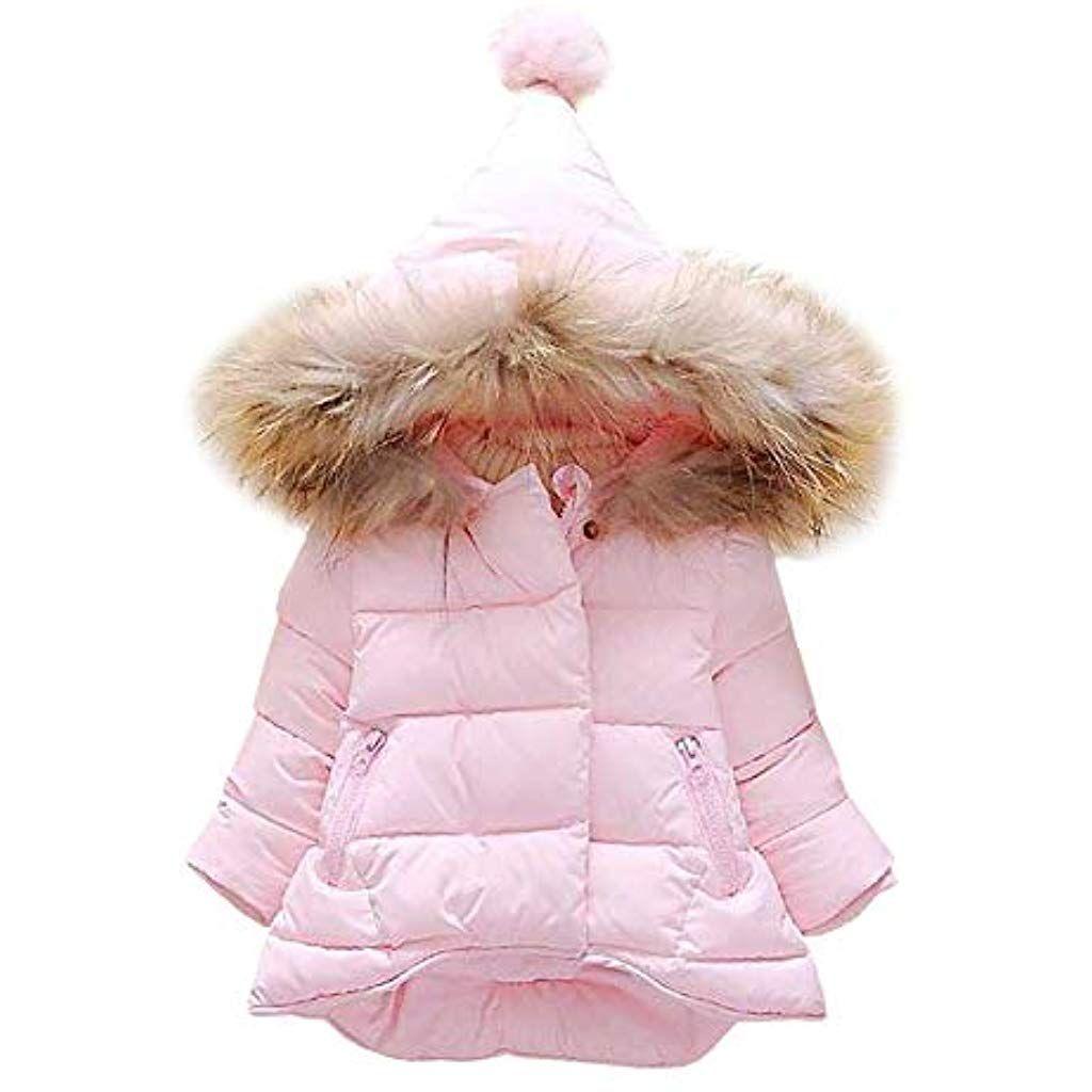 LSHEL Baby Mantel Daunenjacke Mantel Herbst Winter