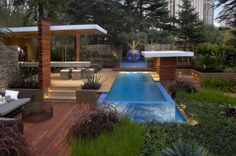 Led Gartenbeleuchtung Ideen Fur Terrasse Und Blumenbeet Garten