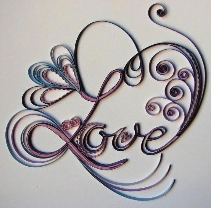 Pin by sharon battocletti on quilling pinterest quilling quilled love letters from kim at kims craft diary altavistaventures Choice Image