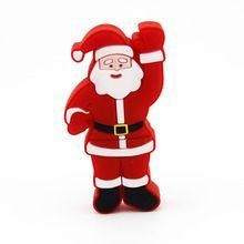 PVC Custom 8GB Christmas USB,Santa Claus USB 2.0 Christmas Gift,2017 Christmas Santa claus usb flash drive#512flashdrive #imationflashdrive #verbatimusbflashdrive