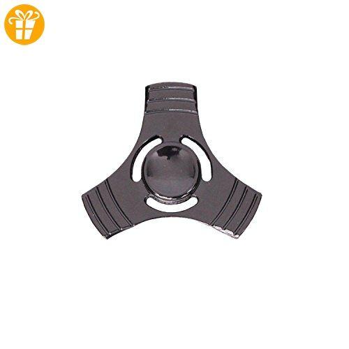 ^ Alu PINBALL Fidget Spinner Finger Kreisel Anti Stress ADHS Metall Regenbogen