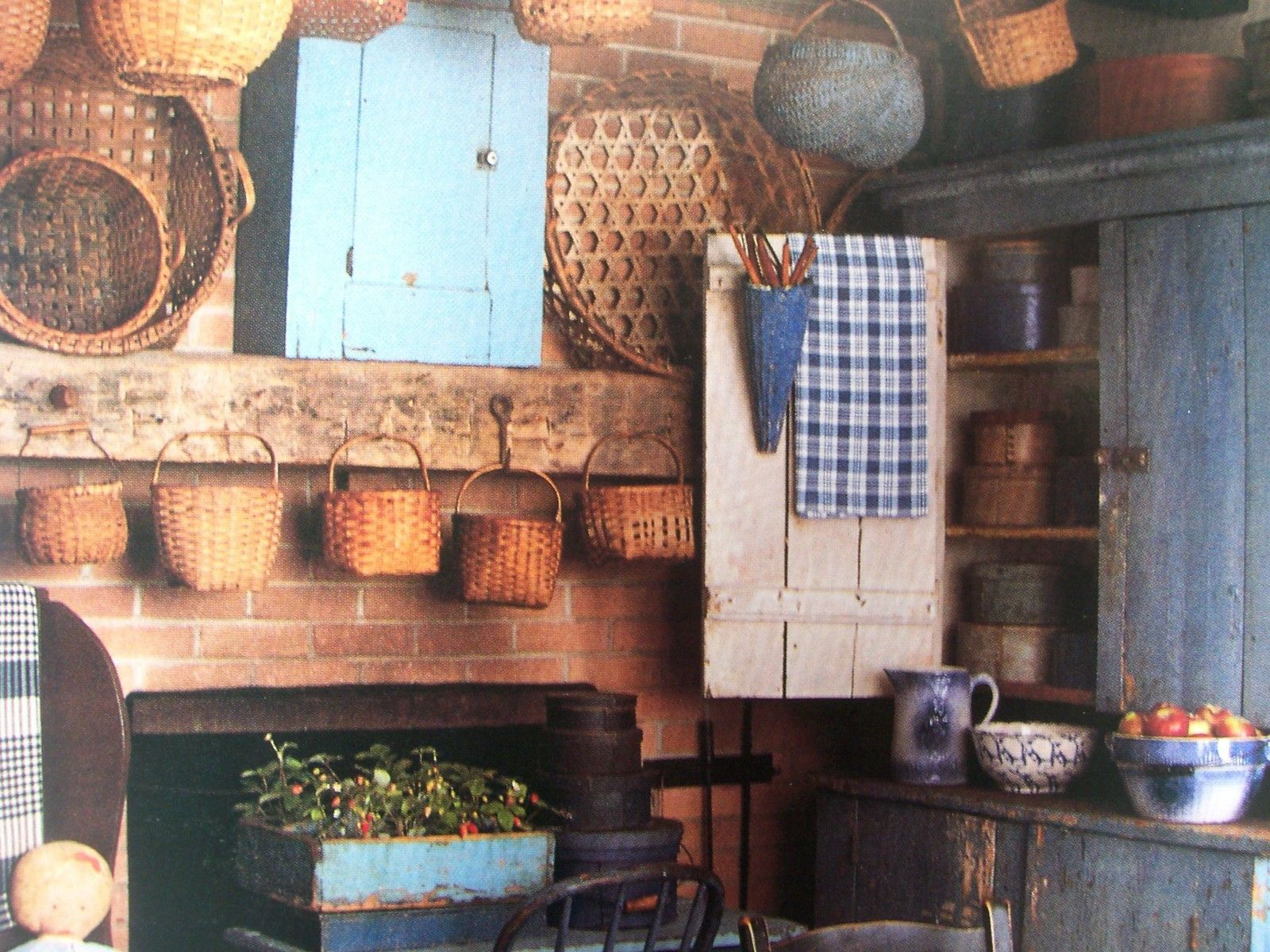 Primitive ~★AMERICAN COUNTRY HOME★~ ---Early Decorating Book  