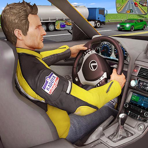 Traffic Highway Racer Car Rider