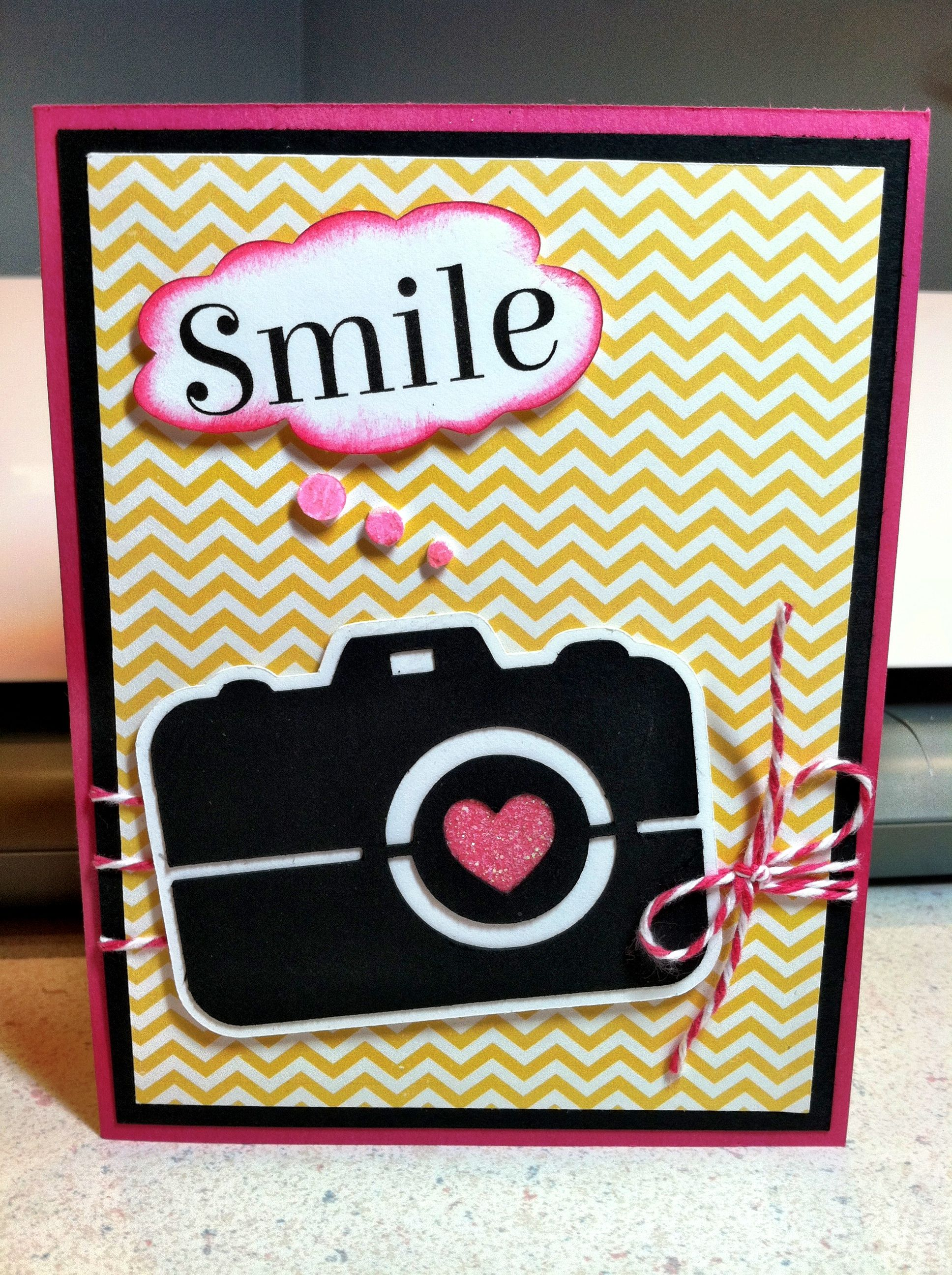Camera Themed Greeting Card Creative Birthday Cards Birthday