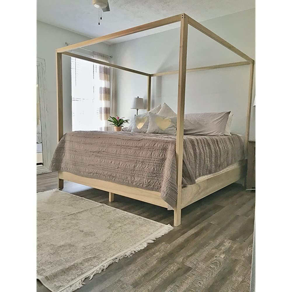 King Canopy Bed Frame Buy Products Online with Ubuy New