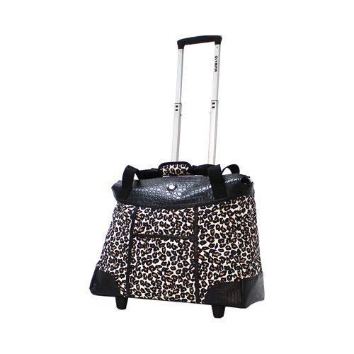 634b2004e572 Deluxe Fashion Rolling Tote | Products | Laptop tote, 17 inch laptop ...