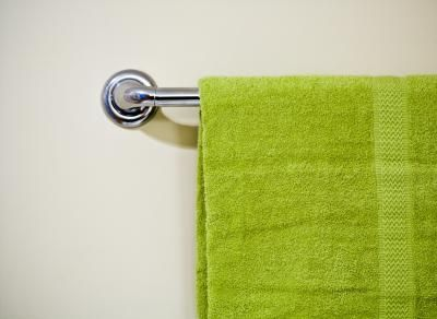 How To Replace Ceramic Wall Tile With A Towel Bar Towel