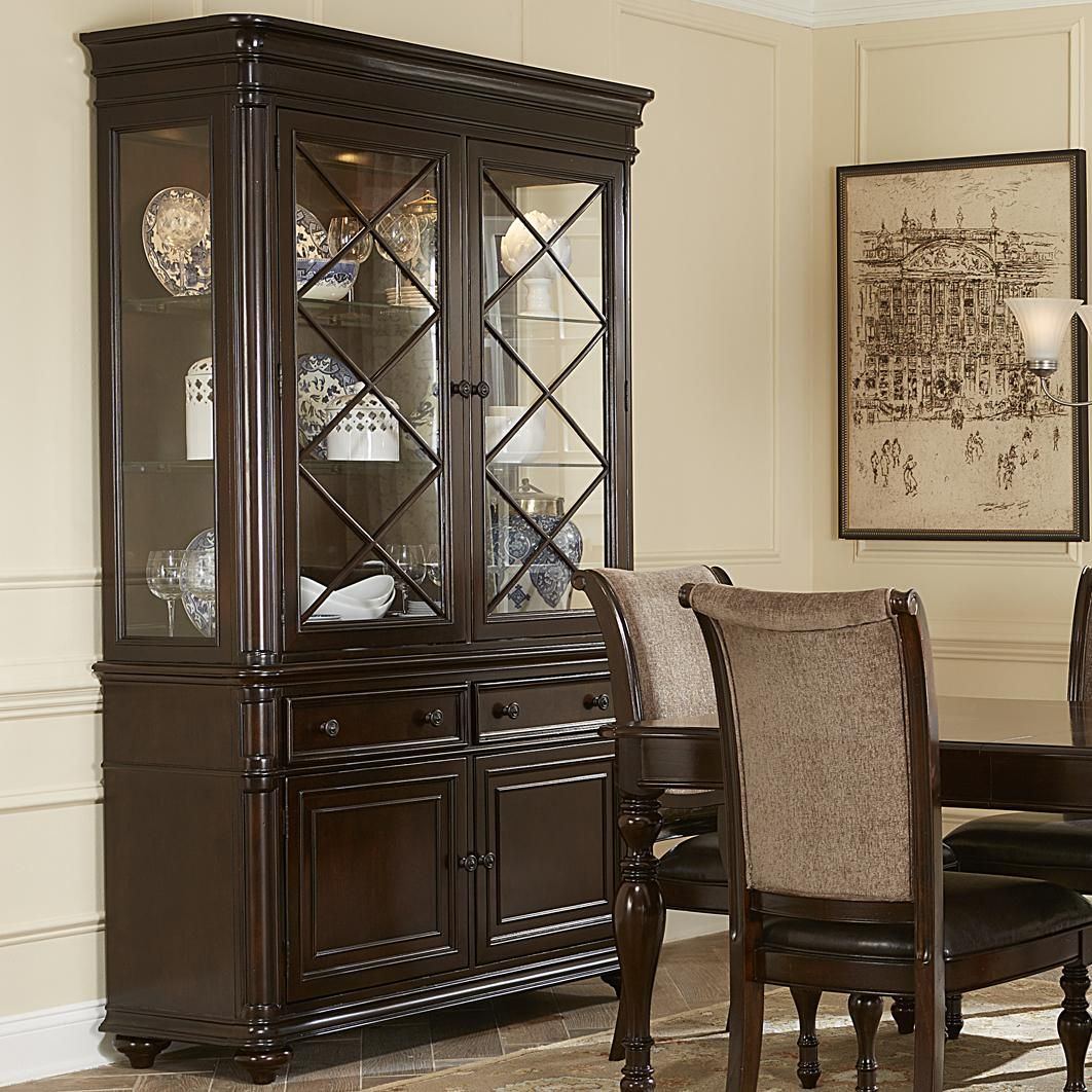 Dining Room Set With China Cabinet Kingston Plantation China Cabinet By Liberty Furniture Home
