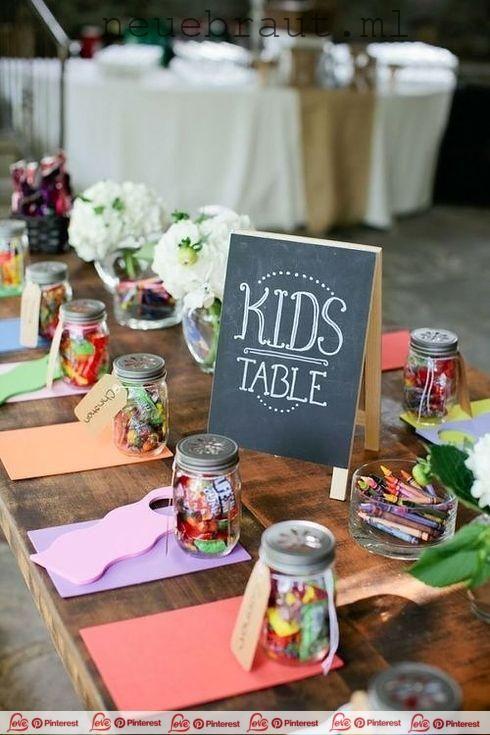 31 Unfassbar Lustige Hochzeitsideen Anstelle Eines Kindertisches