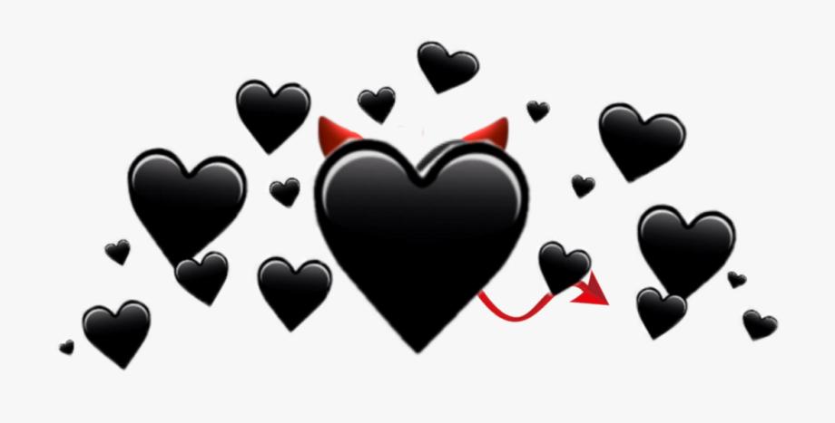 Download Black Heart Emoji Png Png Gif Base Black Heart Emoji Love Heart Emoji White Heart Emoji