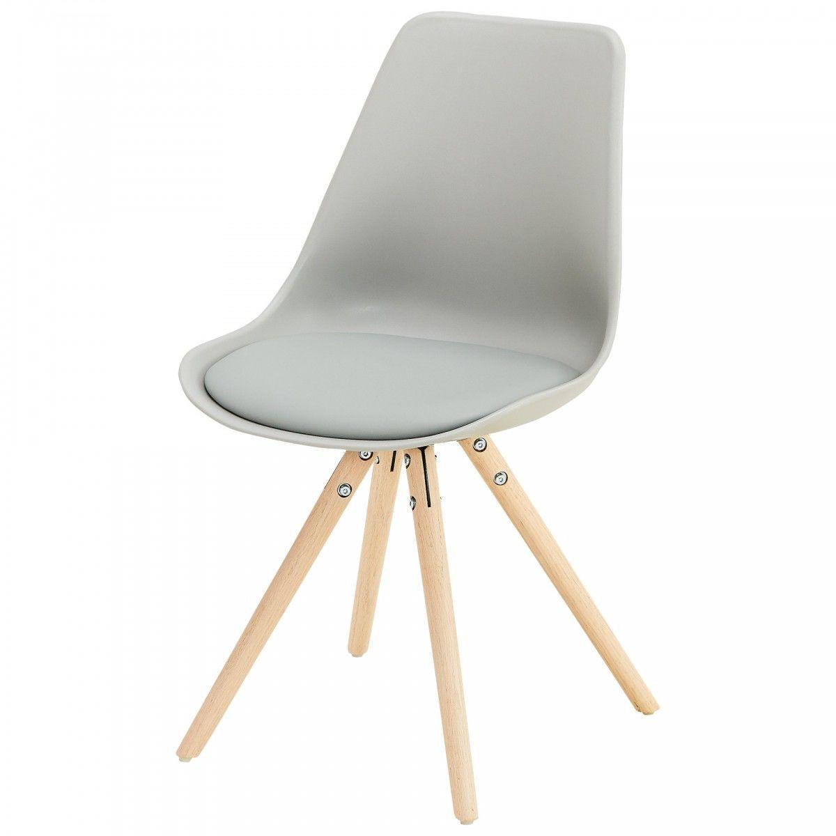Schalenstuhl Woody (grau) Stühle, Esszimmerstühle