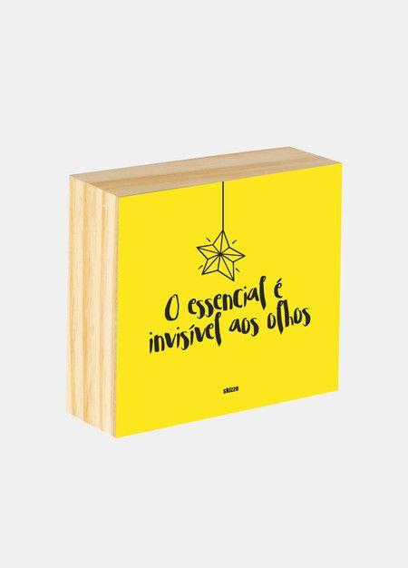 Box ilustrado - O essencial é invisível aos olhos