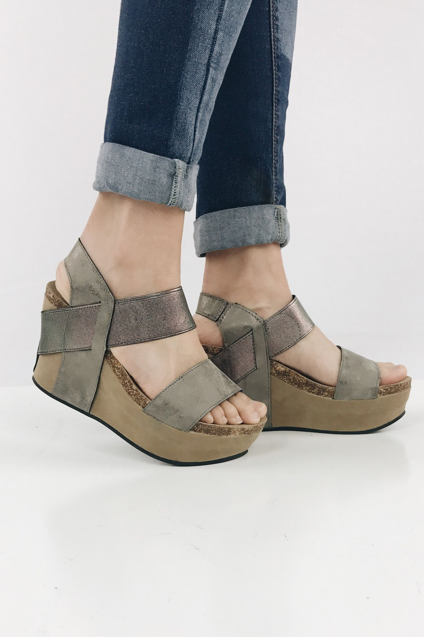 80fa8a0e9d34 Your favorite wedge pewter fashion pinterest pewter wedges jpg 1364x2048 Pewter  wedges