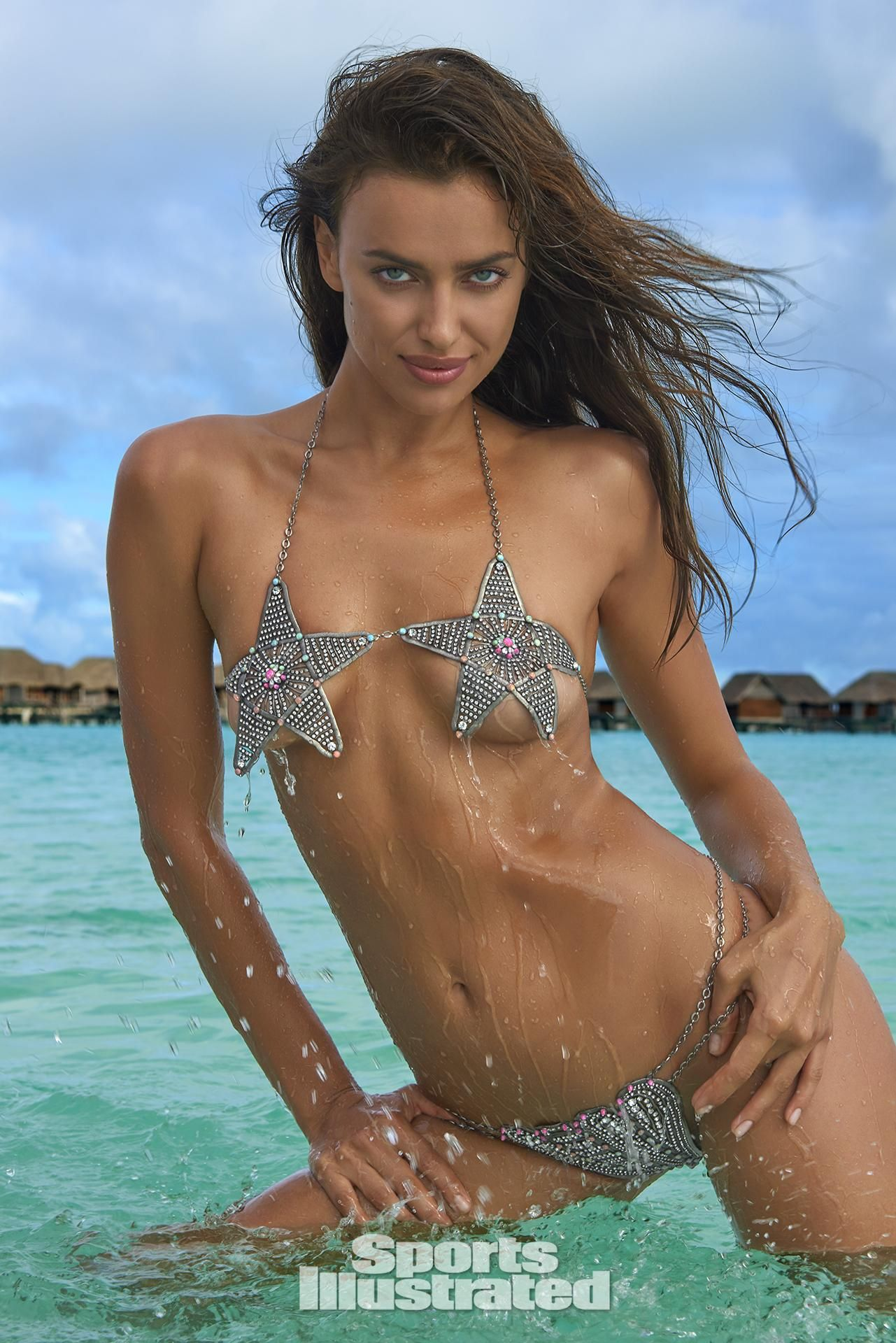 640f744d10 Irina Shayk was photographed by Yu Tsai in The Islands Of Tahiti. Swimsuit  by Lionette By Noa Sade.