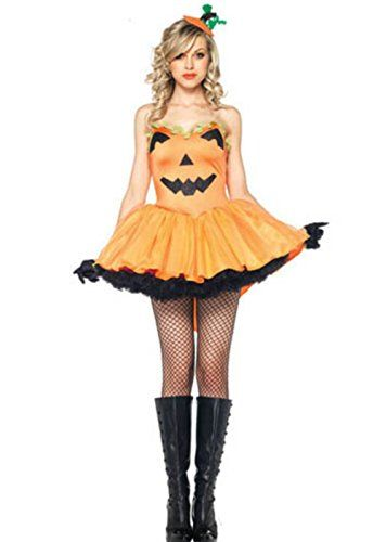 image result for sexy pumpkin costume