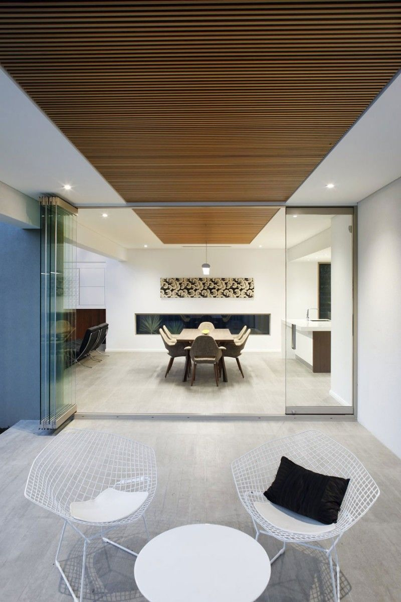 Modern House Living Room Design Open Plan Living Space Completed With Double Height Living Room