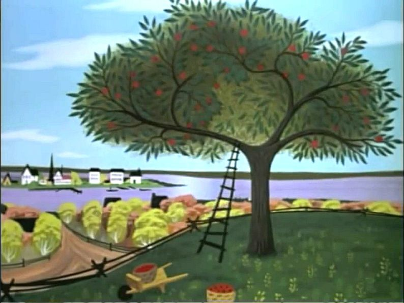 Disney Johnny Appleseed Animation Backgrounds Animation