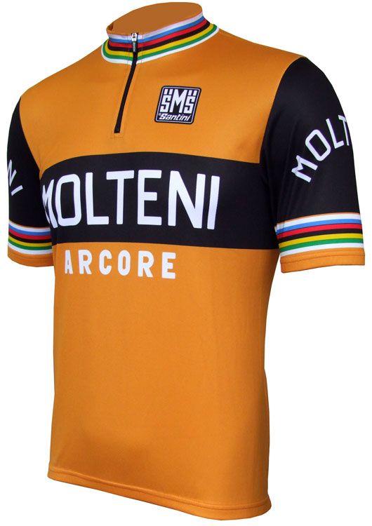Molteni Arcore Retro Jersey - Short Sleeve  d64818230