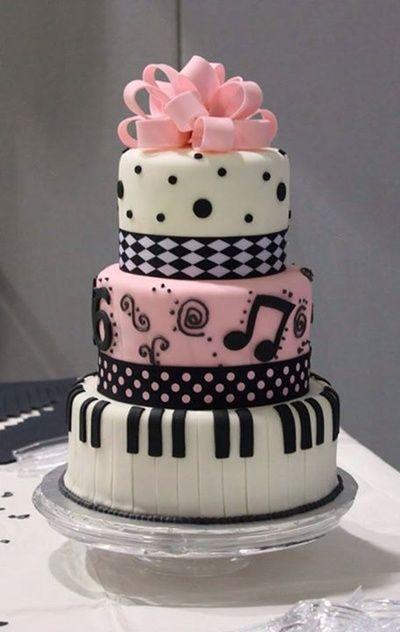 Model Kue Ulang Tahun Anak Perempuan Remaja : model, ulang, tahun, perempuan, remaja, Vemale.com:, Inspirasi, Ulang, Tahun, Untuk, Pecinta, Musik, Menghias, Hidangan, Penutup