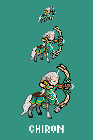 Chiron - The Great Teacher Emote / Sprite we made for Smitewww.twitch.tv/smitegame