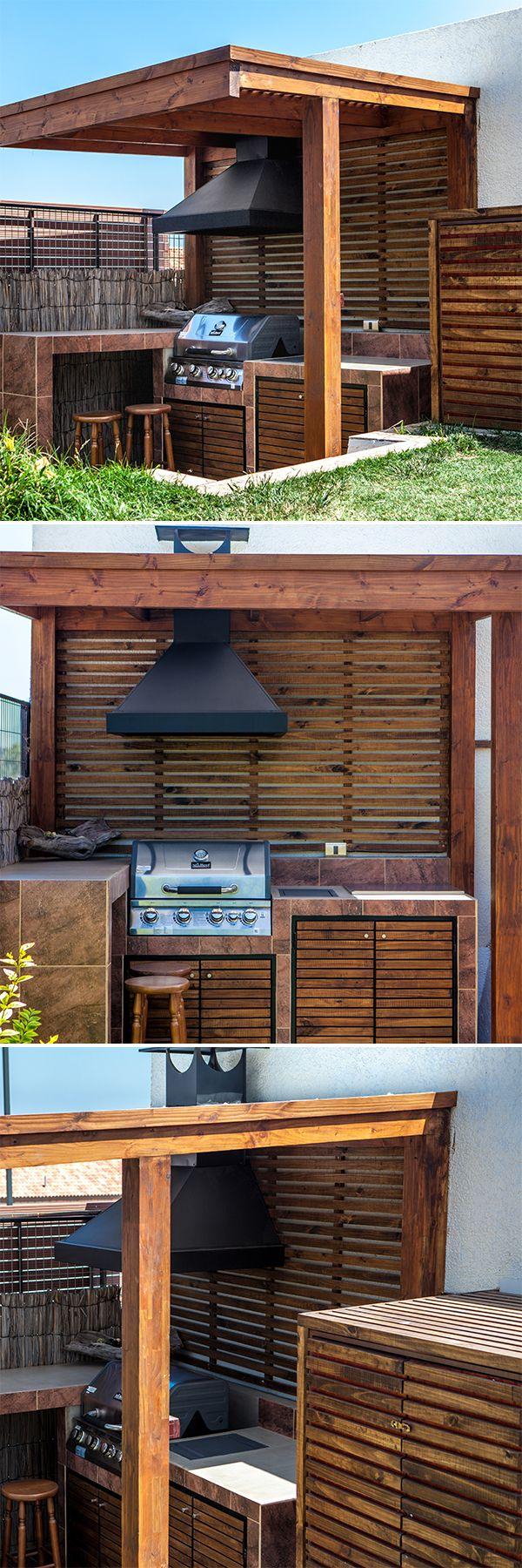 20 best ideas outdoor kitchen designs home quincho y for Jardin al aire libre de madera deco
