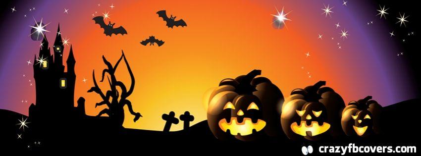 Colorful Pumpkin Halloween Facebook Cover - Facebook Timeline ...