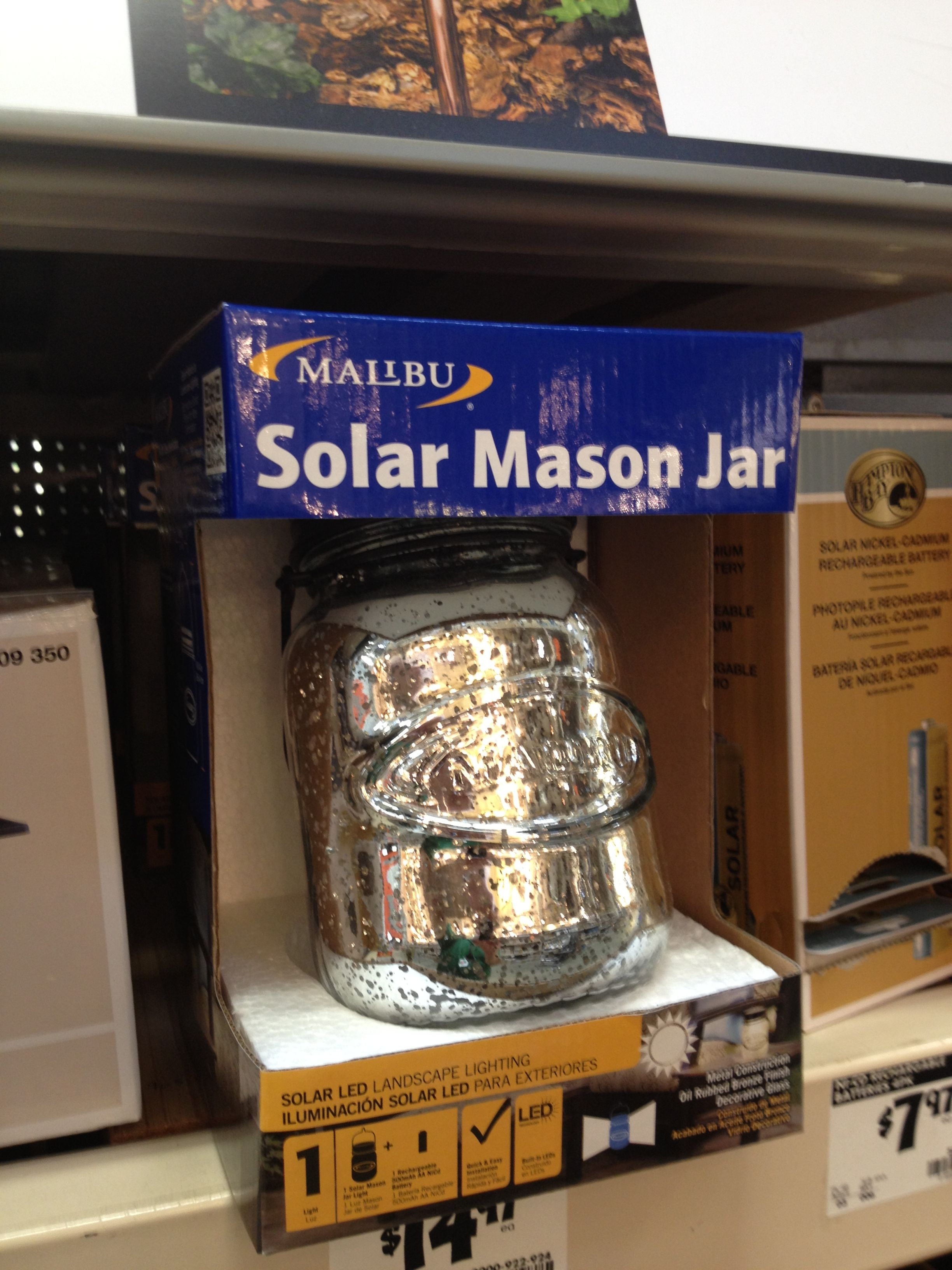 Keep The Picnic Theme Going When You Re Entertaining Outdoors With A Mason Jar Solar Light Solar Mason Jars Mason Jar Solar Lights Ball Mason Jars