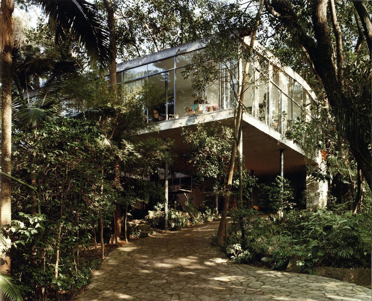 Homes lina bo bardis glass house aestate