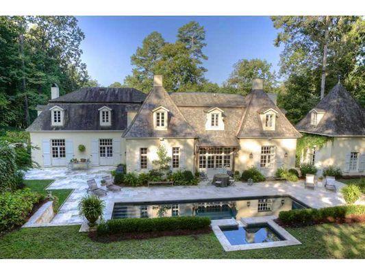 Gorgeous Atlanta Country French Farmhouse Luxury Homes Country Home Exteriors French Country House House Exterior