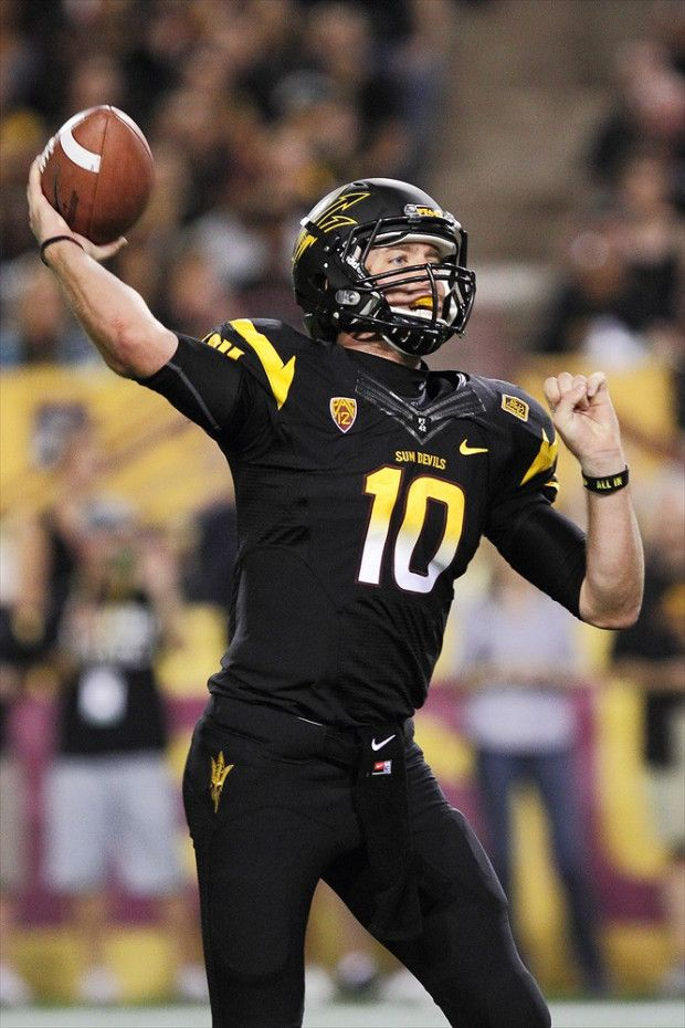 2011 2012 Arizona State All Black Uniform Football Football