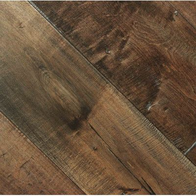 Maple 1 2 Thick X 7 1 2 Wide X Varying Length Engineered Hardwood Flooring Maple Floors Maple Hardwood Floors Hardwood Floors