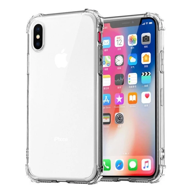 Max Protection Heavy Duty Transparent Case For Iphone 11 Pro Max X Xs Max Iphone Transparent Case Silicone Phone Case Iphone