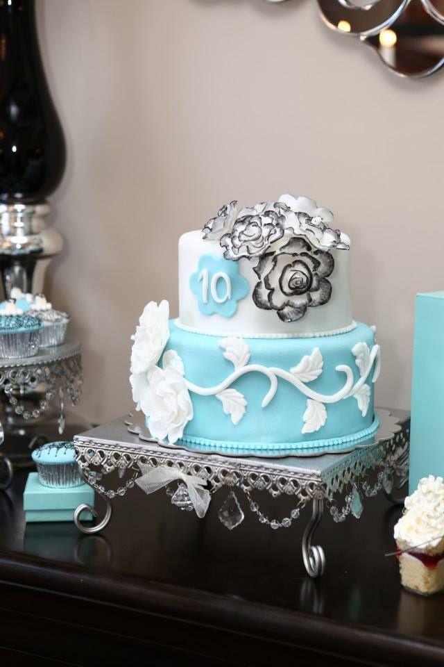 Breakfast At Tiffany S Birthday Cake Cakes Tiffany