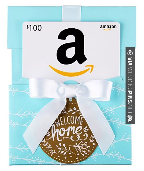 Amazing Amazon Com Gift Card In A Welcome Home Reveal Classic White Card Design Check Out Th Amazon Gift Card Free Gift Card Specials Gift Card Exchange